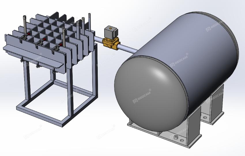 Комплекс для испытаний на резкое изменение давления P-36-Rd