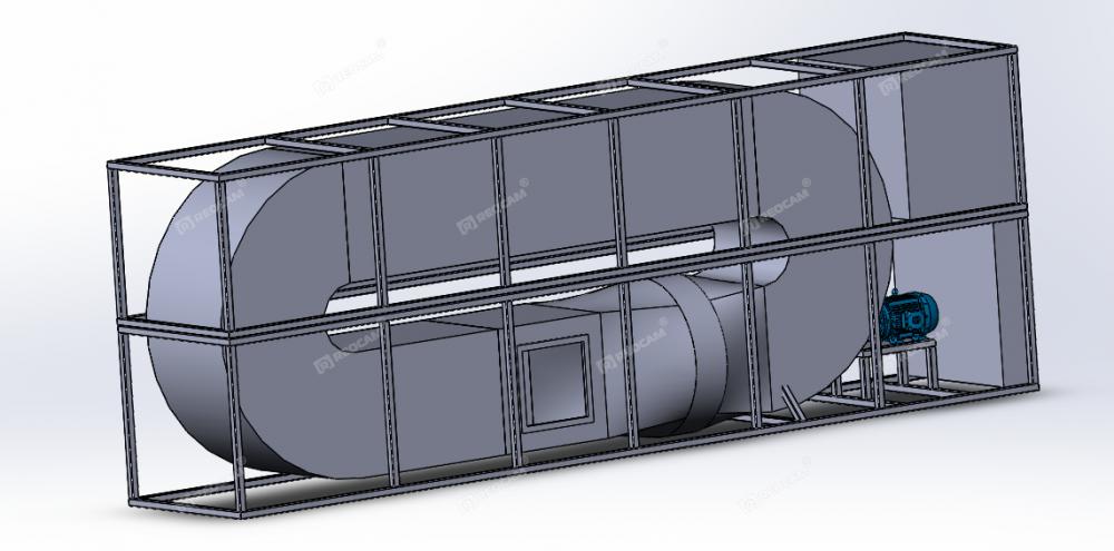 Испытательная камера статической и динамической пыли REOCAM D-1000