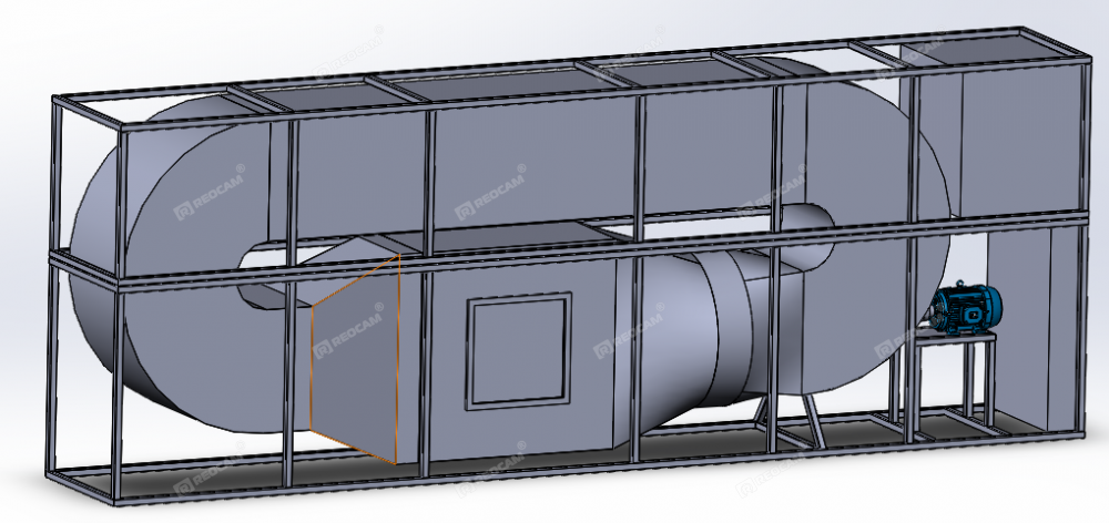 Испытательная камера статической и динамической пыли REOCAM D-2000-S